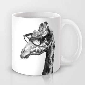 Short-Sighted Giraffe Mug by RubyRed