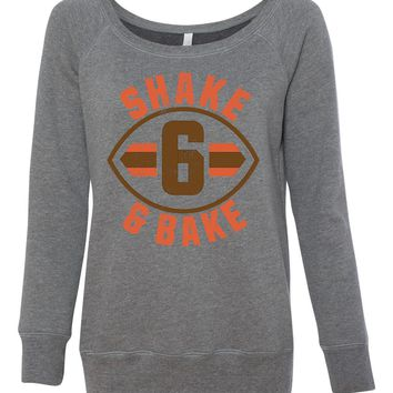 Shake & Bake Women's Wideneck Sweatshirt