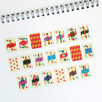 Face Cards by aimez le style washi masking tape mt