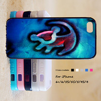 King of Lion Phone Case For iPhone 6 Plus For iPhone 6 For iPhone 5/5S For iPhone 4/4S For iPhone 5C