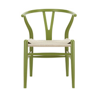 Woven Shaker Chair in Green