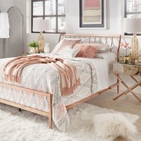 Lincoln Copper Finish Metal Bed by INSPIRE Q | Overstock.com Shopping - The Best Deals on Beds