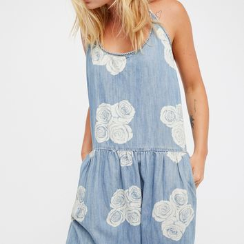 Free People Lead Rose Purity Jumpsuit