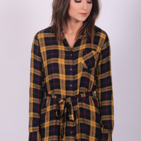 Plaid Habit Dress