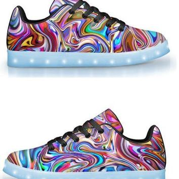 Lucid Dreams -  APP Controlled Low Top LED Shoes