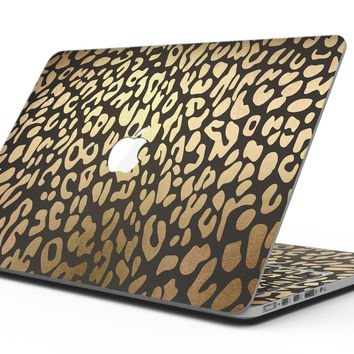 Dark Gold Flaked Animal v3 - MacBook Pro with Retina Display Full-Coverage Skin Kit