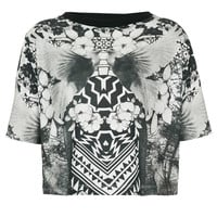 Petite Graphic Dove Print Tee - New In This Week - New In - Topshop