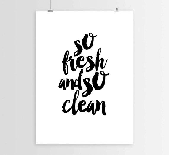 bathroom quote bathroom poster instant from mixarthouse on