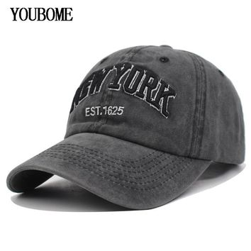 Trendy Winter Jacket YOUBOME Men Snapback Baseball Caps Cotton Women Brand Hats Cap For Men fitted Embroidery Vintage Casquette Bone Dad Casual Caps AT_92_12