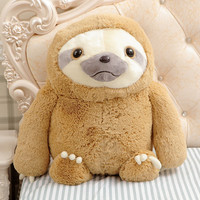 Simulation Sloth The Baby Doll Lifelike Sloth Plush Toys Stuffed Dolls & stuffed toys Kids Lovely Doll Best Holiday Gifts WW36