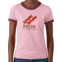 Bacon, The Gateway Meat Shirts from Zazzle.com