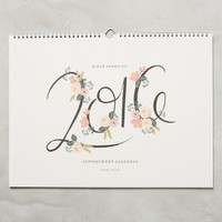 2016 Appointment Calendar by Rifle Paper Co. White One Size Office