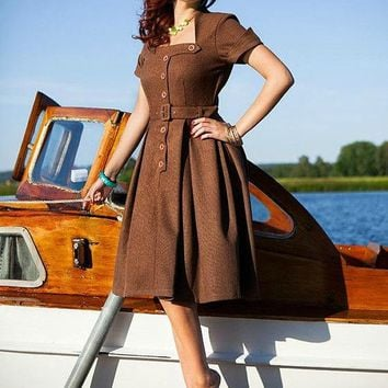 Viva Swing Dress- Free Custom Sizing