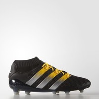 adidas ACE 16.1 Primeknit Firm Ground Cleats - Black | adidas US