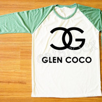 Glen Coco Shirt Mean Girls Shirt Hippie Shirt Green Sleeve Tee Shirt Women Shirt Men T-Shirt Unisex T-Shirt Raglan Baseball Tee Shirt S,M,L