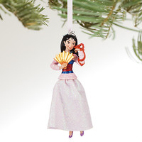 Disney Store 2016 Mulan & Mushu Sketchbook Christmas Ornament New with Tags