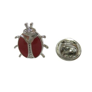 Red Bug Insect Lapel Pin