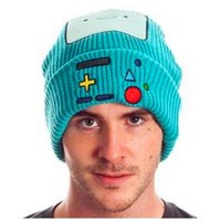 Adventure Beemo BMO Cosplay Cartoon Knitting Hat Wool Cap Finn jack Fionna Princess Bubblegum lemongrab Plush hat Beanies caps