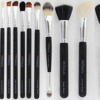 4pc Synthetic Face Brush Set