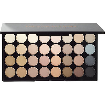 Makeup Revolution Flawless Matte Ultra 32 Eyeshadow Palette