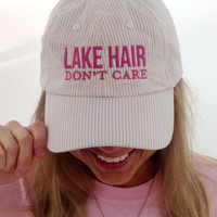 Lake Hair Don't Care Jadelynn Brooke Cap