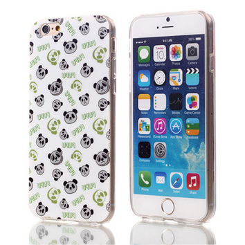 Bear Buddy Soft TPU Case For Apple iPhone 6 6S