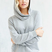 Project Social T Ava Overlap Hoodie Sweatshirt - Urban Outfitters