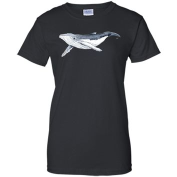 Sexy Humpback Whale Baby Megaptera Novaeangliae 2017 T Shirt