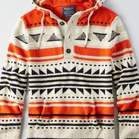 AEO Men's Baja Sweater (Orange)