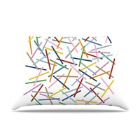 Kess InHouse Project M Sprinkles 30 by 20-Inch Pillow Case, Standard