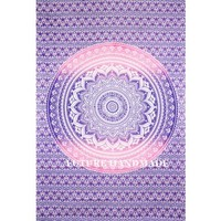 Ombre Tapestries, Tapestry Wall Hanging, Mandala Tapestries, Dorm Wall Tapestries, Hippie Tapestry, Indian Tapestries - Future Handmade