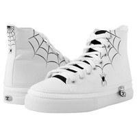 Spider Printed Shoes