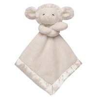 Carter's Ivory Lamb Cuddle Security Blanket