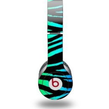 Rainbow Zebra Decal Style Skin fits Beats Solo HD Headphones - (HEADPHONES NOT INCLUDED)