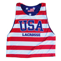 USA Lacrosse Sublimated Sublimated Reversible Pinnie