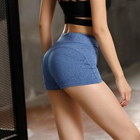 Summer Sexy Yoga Shorts Sport Wear for Women Tight Gym Shorts Fitness Clothing Athletic Workout Active for female Legging Shorts