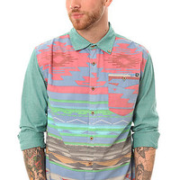 Insight The Satans Taco Buttondown in Bleached Jade : Karmaloop.com - Global Concrete Culture