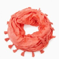 ALIX INFINITY SCARF IN CORAL