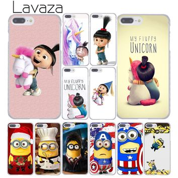 Lavaza 636F Minion My Unicorn Agnes fashion Minions Hard Phone Case for Apple iPhone 8 7 6 6S Plus X 10 5 5S SE 5C 4 4S