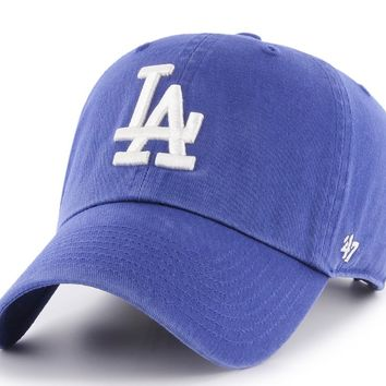 Men's Los Angeles Dodgers Clean Up Adjustable Hat By '47 Brand