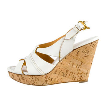 Chloé Wedge Sandals w/ Tags