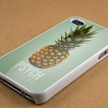pineapple Psych case for iPhone 4/4s, iPhone 5/5S/5C, Samsung S3 i9300, Samsung S4 i9500