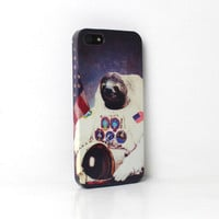 Astronaut Space Sloth iPhone Case For - iPhone 6 Plus Case - iPhone 6 Case -iPhone 5C Case - iPhone 5 Case - iPhone 4 Case