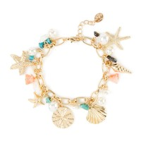 Treasures of the Sea Charm Bracelet | Icing