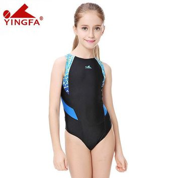 DCCK7N3 Yingfa Competitive swimming kids swimwear HXBY competition swimsuits training swimsuit swim suit women girls racing plus size