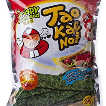 Tao Kae Noi Hot and Spicy Seaweed
