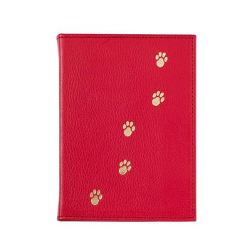 Pet Brag Book  Brights Leather - Red
