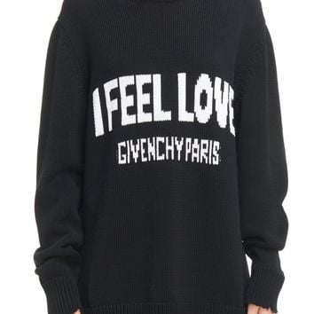 Givenchy I Feel Love Cotton Sweater | Nordstrom