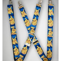 Pokemon Character Suspenders