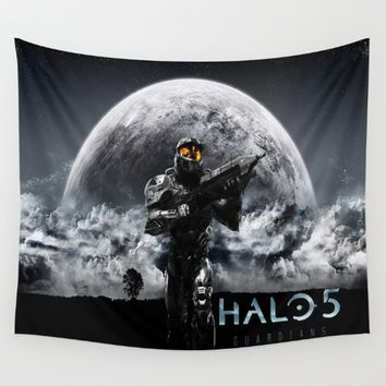 halo 5  , halo 5  games, halo 5  blanket, halo 5  duvet cover, halo 5  shower curtain,  Wall Tapestry by nurrahaq